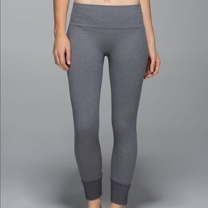 Lululemon Ebb To Street Cropped Gray Pants